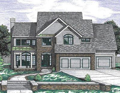 Traditional Style Floor Plans Plan: 10-667