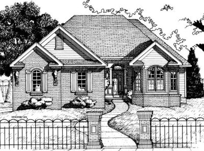 Traditional Style Floor Plans Plan: 10-668