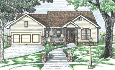 Traditional Style Floor Plans Plan: 10-673