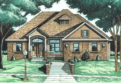 Traditional Style Floor Plans Plan: 10-674