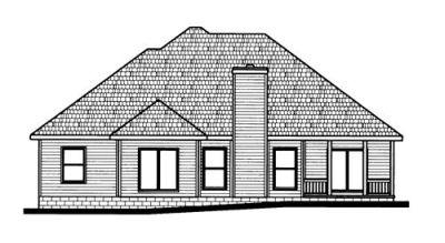 Rear Elevations Plan:10-674