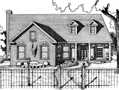 Country Style Floor Plans Plan: 10-682