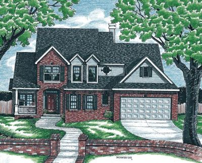 Traditional Style Floor Plans Plan: 10-687