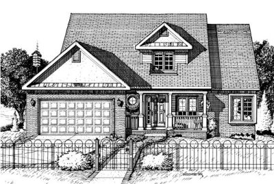 Country Style Floor Plans Plan: 10-689