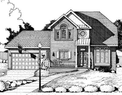 Traditional Style House Plans Plan: 10-690