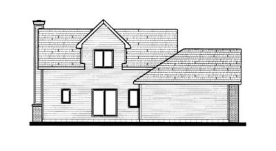 Rear Elevation Plan: 10-692