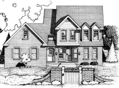 Traditional Style House Plans Plan: 10-693
