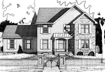 Traditional Style Floor Plans Plan: 10-696