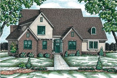 European Style House Plans 10-697