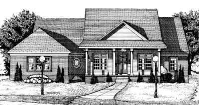Country Style House Plans Plan: 10-699