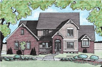 Traditional Style Floor Plans Plan: 10-700
