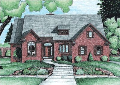 Traditional Style Floor Plans Plan: 10-703