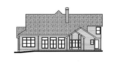 Rear Elevation Plan: 10-704