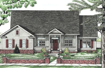 Southern Style House Plans Plan: 10-705