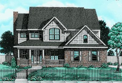 Country Style House Plans Plan: 10-706