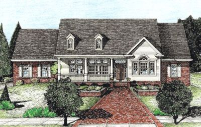 Country Style Floor Plans Plan: 10-707