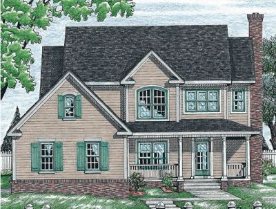 Country Style House Plans Plan: 10-711