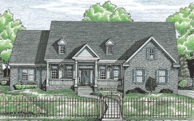 Country Style Floor Plans Plan: 10-712