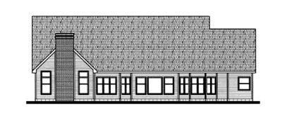 Rear Elevation Plan: 10-712