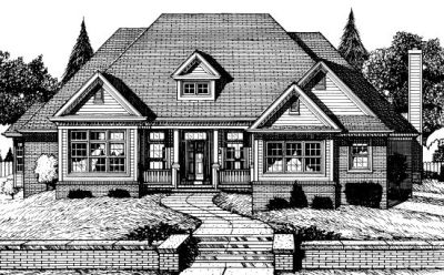 Traditional Style Floor Plans Plan: 10-714