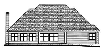 Rear Elevation Plan: 10-714