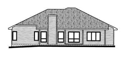 Rear Elevation Plan: 10-715
