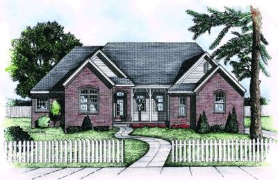 Traditional Style House Plans Plan: 10-716