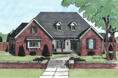 Traditional Style House Plans Plan: 10-717