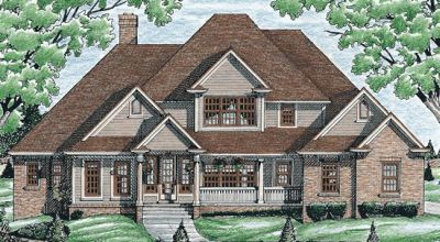 Traditional Style Floor Plans Plan: 10-719