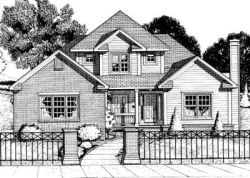 Traditional Style Floor Plans Plan: 10-720