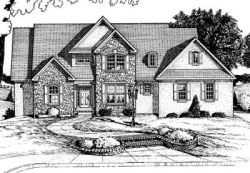 European Style House Plans Plan: 10-721