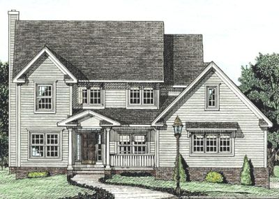 Traditional Style House Plans Plan: 10-727