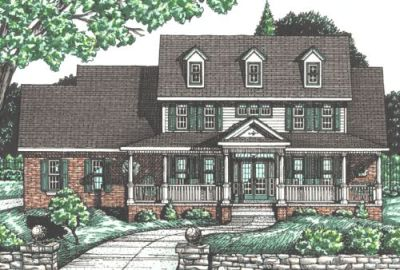 Southern Style House Plans Plan: 10-728