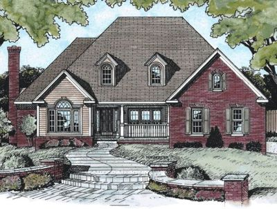 Traditional Style Floor Plans Plan: 10-732