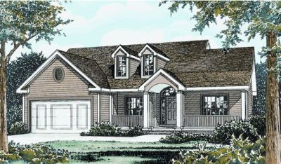 Traditional Style Floor Plans 10-733