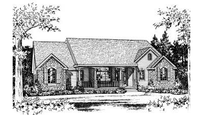 Country Style House Plans Plan: 10-736
