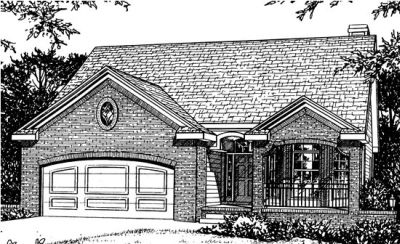 Traditional Style Floor Plans Plan: 10-737