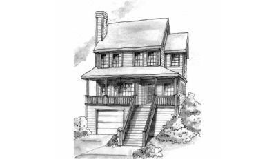 Traditional Style House Plans 10-739