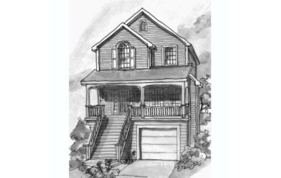 Traditional Style Floor Plans 10-740