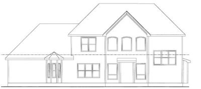 Rear Elevation Plan: 10-753