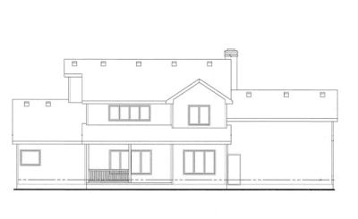 Rear Elevation Plan: 10-759