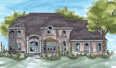 European Style House Plans Plan: 10-760