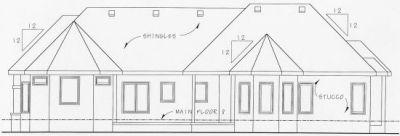 Rear Elevation Plan: 10-761