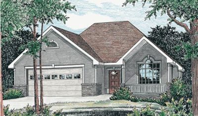 Traditional Style Home Design Plan: 10-770
