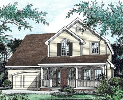 Country Style Floor Plans Plan: 10-772