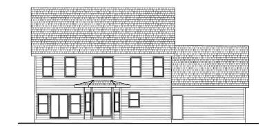 Rear Elevations Plan:10-776