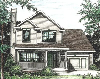 Country Style Floor Plans Plan: 10-778