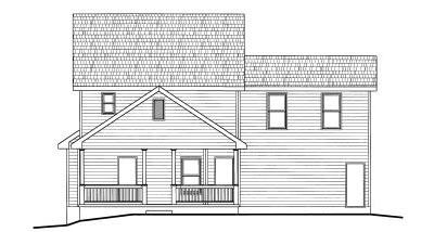 Rear Elevation Plan: 10-779