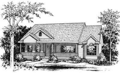 Ranch Style House Plans Plan: 10-784