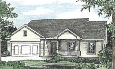 Traditional Style Home Design Plan: 10-786